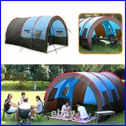 10 Person Searcy Family Camping Tunnel 2Room Waterproof Hiking Cabin Dome Tent