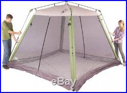 10'x10' Fast Canopy Gazebo With Netting Screen House Sun Shade Netted Camping
