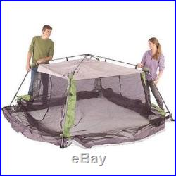10'x10' Instant Canopy Screen Tent Shelter Camp Beach Protection Sun Wind Bugs