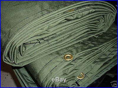 10 x 10 CORDURA Tarp Canopy, USA made, Tough Nylon 12 Lbs