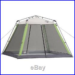 10 x 10 Instant Canopy Screened Shelter Tent Camping Sun Beach Gazebo