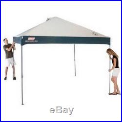 10 x 10 Instant Canopy Tent Gazebo Coleman Pop Up Shade Shelter Outdoor Camping