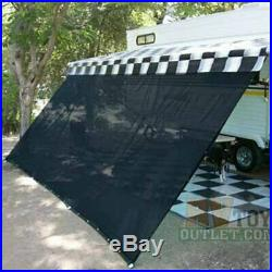 10' x 16' RV Camper Trailer Awning Sun Shade Kit Motorhome Patio Privacy Screen