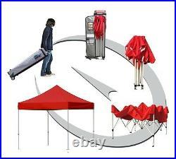 10x10 Custom Graphics Logo Printed Ez Pop Up Canopy Event Tent Shade Gazebo