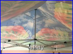 10x10 EZ Pop Up Commercial grade Aluminum hex canopy tent Frames 10'x10' size