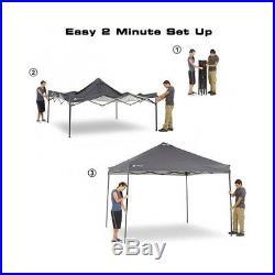 10x10 Ozark Trail Outdoor Backyard Picnics Camping Sun Shade Tent Canopy Gazebo