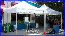 10x10 ShelterLogic Alumi-Max Ultra Heavy Duty Pop-up Canopy 22700 Camping Tent