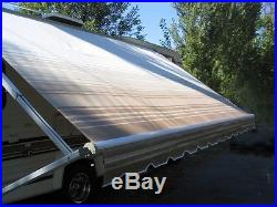 11' RV Awning Replacement Fabric for A&E / Dometic, Carefree, Faulkner (10'3)