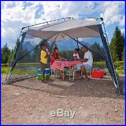 11' x 11' Beach Home Garden Screened Tent Outdoor Camping Hiking Shelter Canopy