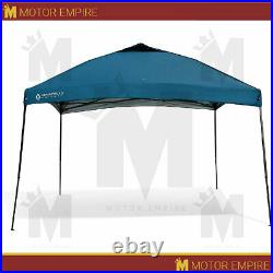 12'x12' Blue Pop Up Canopy Height Adjustable Easy Setup Instant Shelter