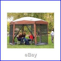 12 x 10 SCREENED CANOPY BUG NETTING CAMPING BBQ OUTDOOR SHELTER PORTABLE GAZEBO