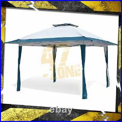 13'x13' Auto extension Push Up Gazebo Height Adjustable Canopy Instant Shelter