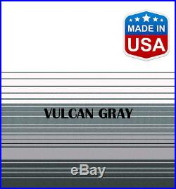 14' RV Awning Replacement Fabric for A&E, Carefree, Faulkner (13'3) Gray