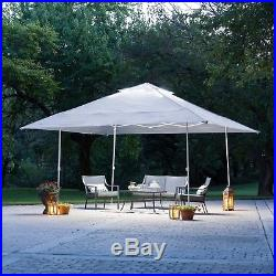 14' x 14' Instant Canopy With Led Lighting System Shelter Tent Patio Shade