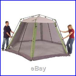15x13 Straight Leg Instant Screened Shelter House Room Beach Camping Outdoor