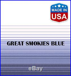16' RV Awning Replacement Fabric for A&E, Dometic (15'3) Blue