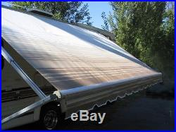 16' RV Awning Replacement Fabric for Dometic, Carefree, Faulkner 16 ft (15'3)