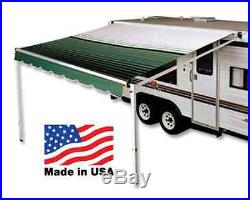 17' RV Awning Replacement Fabric for A&E, Dometic (16'3) Mojave Brown