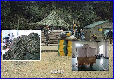 1pcs 1MX1.5M Camouflage Net Woodlands Leaves Camo Cover Hunting Camping Military