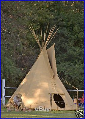 20 ft tipi plains tepee Sioux Style NEW from Germany