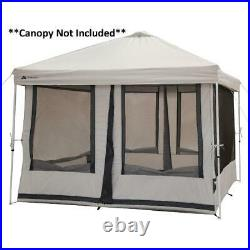 2-In-1 Tent Connect 7-Person Screen Tent with 2 Doors Camping House Outdoor Camp T