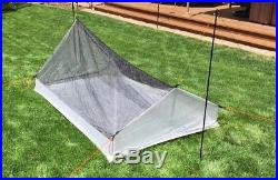 2 Person Slopped Walled Inner Net Tent Cuban Fiber (DCF11 Dyneema Composite)
