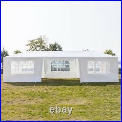 30x10ft Heavy Duty Outdoor Canopy Party Wedding Tent Gazebo Carport with7 Sidewall