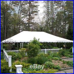 40x60 White Vinyl Classic Frame Tent for Wedding Outdoor Event Party Catering