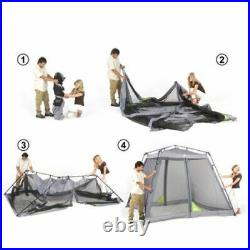 4 Person Ozark Trail 10' x 10' Instant Screen House Outdoor Tent Sun Shade