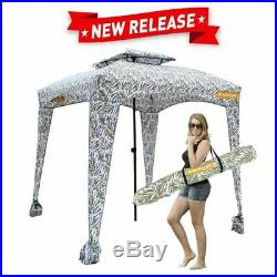 6X6 Beach Tent Elegant EasyGo Set-up Cabana Canopy Keeps Comfortable Umbrella