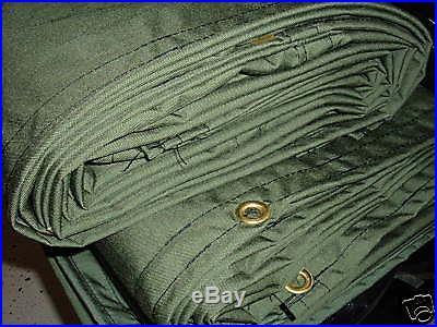 6 x 9 CORDURA Tarp Canopy, USA made, Tough Nylon 7 Lbs