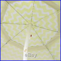 7FT Green Portable Travel Beach Shade Umbrella Shelter With Carry Bag
