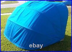 7.5' Commercial Grade Accordion Pop Up Beach Tent Cabana Umbrella Shade Canopy