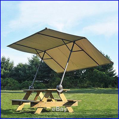 7x10 ShelterLogic Tilt Mount Quick Clamp Canopy Pop Up EZ Up Camping Party 14553