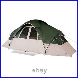 8 Person 2 Room Cabin Tent 16 X 8 X 6.17 Ft Camping Hiking Outdoor Travel Tent