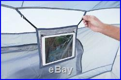 8-Person Camping Tent 10 x 10 ft. ConnecTent for Straight-leg Canopy L Shaped