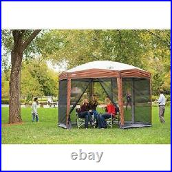 8 Person Pop up Tent Coleman Screened Canopy 12x10 Tent Instant Setup Shelter