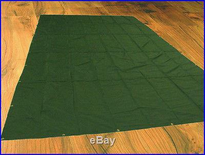 8 x 8 CORDURA Tarp Canopy, USA made, Tough Nylon 8 Lbs