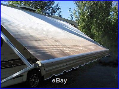 9' RV Awning Replacement Fabric for A&E Dometic, Carefree, Faulkner 9 ft (8'3)
