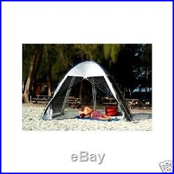 ABO Gear Go-Zebo Portable Screened Canopy Beach Cabana Shelter Tent Sun Shade