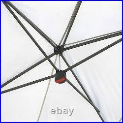 ARROWHEAD OUTDOOR 10x20 Heavy-Duty Pop-Up Canopy & Instant Shelter (Grey)