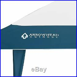 ARROWHEAD OUTDOOR 13x13 Pop-Up Canopy & Instant Shelter (Blue & White)