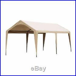Abba Patio 10 x 20 Foot Portable Outdoor Carport Canopy -6 Steel Legs (Open Box)