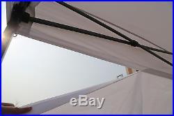 AbcCanopy 8x8 Ez Pop Up Canopy Party Wedding Tent Gazebo Shelter with 4 Walls