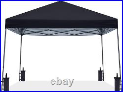 Abccanopy Stable Pop Up Outdoor Canopy Tent, Black