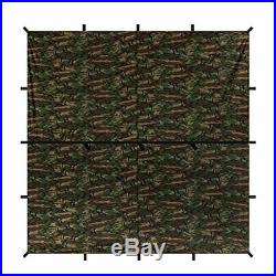 Aqua Quest Aqua Quest Defender tarp Square camouflage 3 3 m waterproof