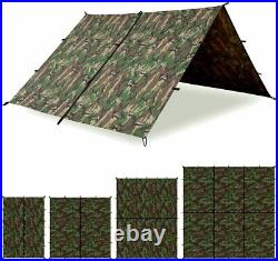 Aqua Quest Defender Tarp 100% Waterproof Heavy Duty Nylon Survival Shelter