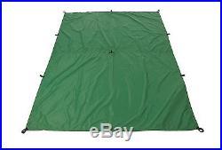 Aqua Quest'Guide' 100% Waterproof & Ultra Light Sil Tarp 10 x 7 Medium Green