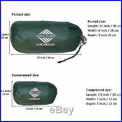 Aqua Quest Guide 13 x 10 ft Large Waterproof Tarp UltraLight Camping Green