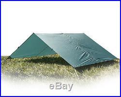 Aqua Quest Guide Sil Tarp Basha 100% Waterproof Ultralight Large 4 x 3 m Green